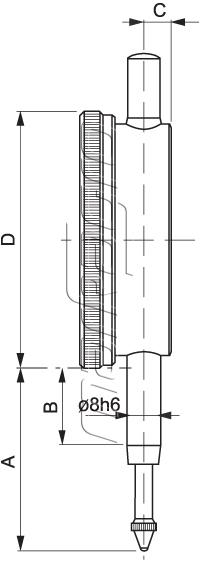 Číselníkový úchylkoměr 512-041