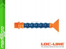 """Chladící hadice s plochou tryskou 3"""" (~76,2 mm) s vnějším závitem NPT 3/4"""", délka 400 mm - LOC-LINE (P24030)"""