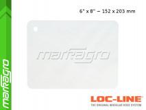 """Ochranný štít 6x8"""" ~ 152,4x203,2 mm - LOC-LINE (60528)"""