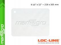 """Ochranný štít 8 1/2x12"""" ~ 215,9x304,8 mm - LOC-LINE (60530)"""