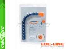 """Sada pro rychlou montáž ochranného štítu 6x8"""" ~ 152,4X203,2 mm - LOC-LINE (60525)"""