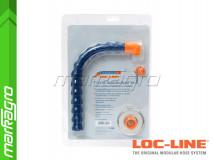 """Sada pro rychlou montáž ochranného štítu 7 1/2x10"""" ~ 190,5x254 mm - LOC-LINE (60526)"""