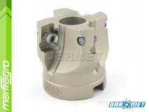 Fréza s VBD LDMT - držák, ⌀ 40 mm, čelní válcová nástrčná 4-břitá - DARMET (FA90LD15-040-16A04)