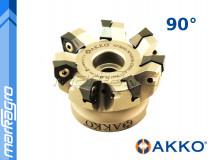 Fréza s VBD WNMX - držák, ⌀ 50 mm, čelní válcová nástrčná 4-břitá - AKKO (AFM90-WN0806-D050-A16-Z04-H)