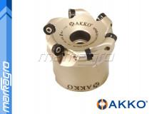 Fréza s VBD RCMT - držák, ⌀ 40 mm, čelní kopírovací nástrčná 4-břitá - AKKO (AFMR-RC10T3-D040-A16-Z04-H)