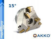 Fréza s VBD APKT ⌀ 93 mm, čelní nástrčná pro srážení hran 6-břitá - AKKO (AHM15-AP16-D35X93-A27-Z0306-H)