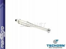 Vyměnitelný měřící dotek pro číselníkové úchylkoměry 3D SLIMplus V2 62 x 6 mm - TSCHORN (00163D006)