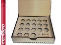 Dřevěný box pro kleštiny ER32 - prázdný