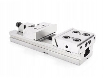 Ocelový přesný strojní svěrák 100 mm