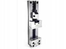 Ocelový přesný strojní svěrák horizontálně - vertikální 150 mm