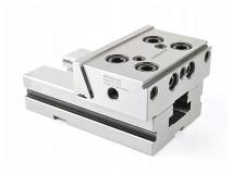 Ocelový přesný strojní svěrák modulární, dělený 150 mm - DARMET (FPZ150 II)