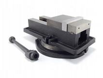 Otočný litinový strojní svěrák 100 mm - FQM100/100