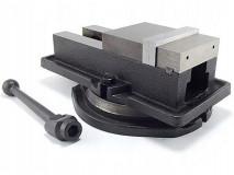 Otočný litinový strojní svěrák 160 mm - FQM160/140