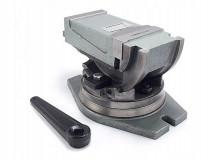 Strojní otočný a naklápěcí svěrák 100 mm - FQU100/80