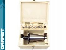 Kleštinový upínač ER16 - ISO50, komplet 8 ks. (DM-076)