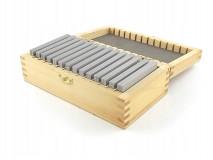 Rovnoběžné frézařské podložky 80 x 4 mm - DARMET (PB150-3)