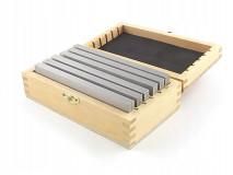 Frézařské rovnoběžné podložky 150 x  4,6 mm - DARMET (PB157-2)