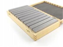 Frézařské rovnoběžné podložky 150 x 10 mm - DARMET (PB155-2)