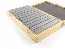 Frézařské rovnoběžné podložky 120 x 10 mm - DARMET (PB155-1)