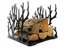 Stojan na krbové dřevo 44 x 42 x 40 cm, plech 2,5 mm - DARMET