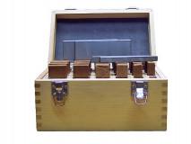 Podložky frézařské rovnoběžné 125 x 8 - 14 mm - DARMET (PB153-1)