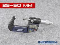 Mikrometr pro měření vnějších průměrů 25-50MM - INDISEN (2311-2550)