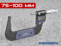 Mikrometr pro měření vnějších průměrů 75-100MM - INDISEN (2311-7510)