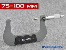 Mikrometr pro měření vnějších průměrů 75-100MM - INDISEN (2322-7510)