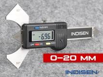 Digitální kontrolní měřidlo pro svary 20MM - INDISEN (1232-0200)
