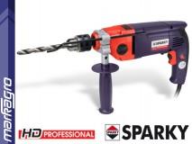 Dvourychlostní vrtačka s příklepem BUR2 250E HD Professional SPARKY