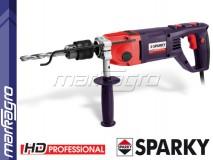 Dvourychlostní vrtačka s příklepem BUR2 350CET HD Professional SPARKY