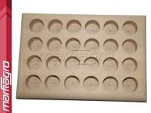 Dřevěný box otevřený pro kleštiny ER40 - prázdný