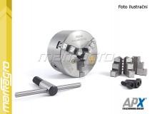 Soustružnické tříčelisťové sklíčidlo samocentrující, litinové - 200 mm (APX3204)
