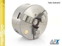 Soustružnické tříčelisťové sklíčidlo samocentrující, ocelové - 200 mm (APX3504)