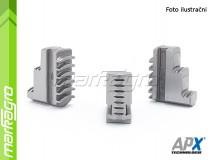 Základní čelisti tvrdé vnější - 125 mm (APX STZ3)