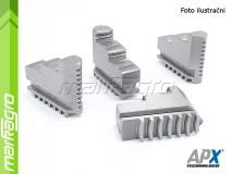 Základní čelisti tvrdé vnější - 125 mm (APX STZ4)