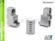Dělené čelisti tvrdé horní - 125 mm (APX STG3)