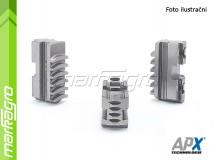 Dělené čelisti tvrdé dolní - 250 mm (APX SP3)