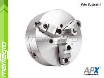 Soustružnické tříčelisťové sklíčidlo samocentrující, ocelové - 200 mm (APX3505)