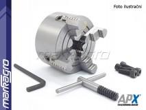 Soustružnické 4-čelisťové sklíčidlo se samostatně stavitelnými čelistmi, litinové - 200 mm (APX4304)