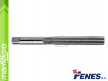 Ruční výstružník D3 H7 s přímými břity - 3 mm, DIN206-A HSS (FENES)