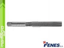 Ruční výstružník D7 H7 s přímými břity - 7 mm, DIN206-A HSS (FENES)