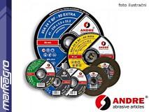 Řezný kotouč vypouklý - 115 mm x 3 mm x 22,2 mm, PRO-LINE verze STONE, TYP 42 - ANDRE (020099)