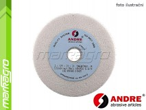 Brusný kotouč plochý - 100 mm x 10 mm x 20 mm, s keramickým pojivem, TYP 1 - ANDRE (510097)