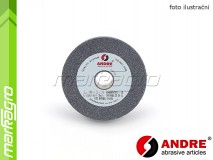 Brusný kotouč plochý - 100 mm x 20 mm x 20 mm, s keramickým pojivem, TYP 1 - ANDRE (510150)