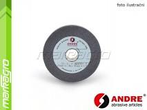 Brusný kotouč plochý - 100 mm x 20 mm x 20 mm, s keramickým pojivem, TYP 1 - ANDRE (510157)