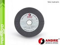 Brusný kotouč plochý - 125 mm x 16 mm x 20 mm, s keramickým pojivem, TYP 1 - ANDRE (510365)