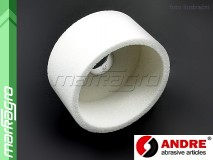 Brusný kotouč hrncovitý - 125 mm x 50 mm x 32 mm, s keramickým pojivem, TYP 6 - ANDRE (520535)