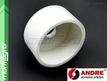 Brusný kotouč hrncovitý - 125 mm x 50 mm x 32 mm, s keramickým pojivem, TYP 6 - ANDRE (520539)
