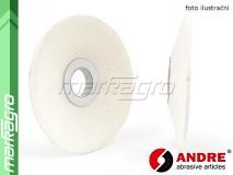 Brusný kotouč kuželový - 100/36 mm x 13/3,2 mm x 20 mm, s keramickým pojivem, TYP 12 - ANDRE (520107)